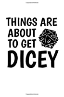 Notebook: Gamer Dice Dungeon Rpg Tabletop Funny Gift 120 Pages, 6X9 Inches, Blank