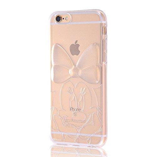 iPhone6/6s ディズニーキラキラソフトケース ミニー...