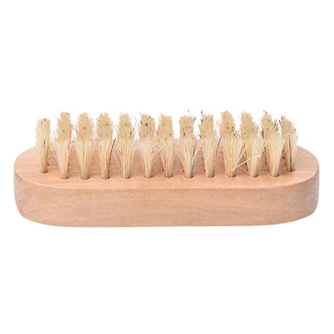 保護するめるハンディCikuso 木製ハンドル ブリストル爪手足ブラシ マニキュア