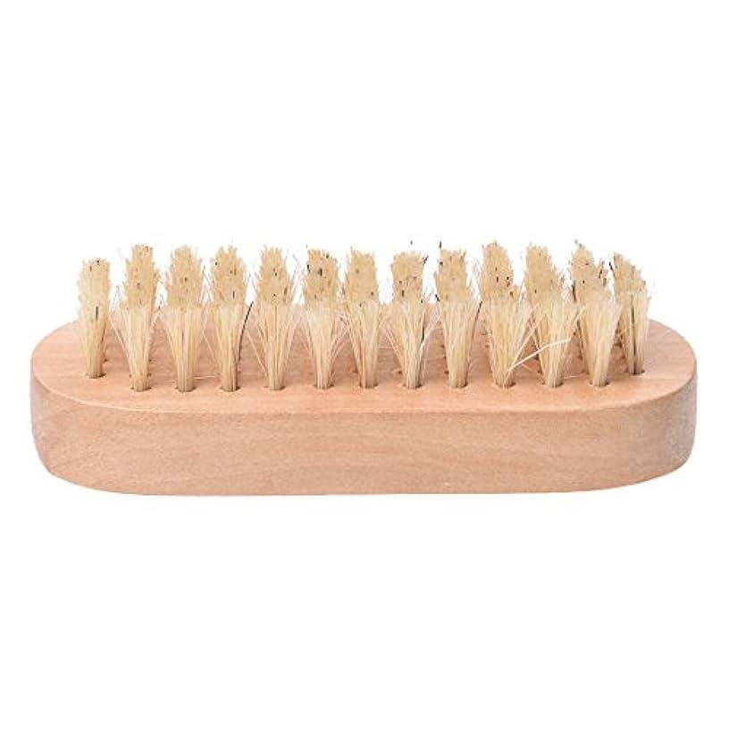 ソフィー不信重さCikuso 木製ハンドル ブリストル爪手足ブラシ マニキュア