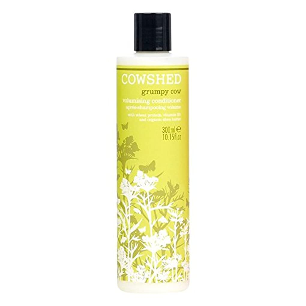 牛舎不機嫌牛Volumisingコンディショナー300ミリリットル (Cowshed) (x2) - Cowshed Grumpy Cow Volumising Conditioner 300ml (Pack of 2)...