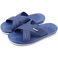 HB-Household Paangkei Large Size Mens Slippers Sandals - Man Bedroom Home Indoor Outdoor House Pool Spa Massage Foam Non-slip Shower Household Beach Chinese Plastic Slipper Sandal