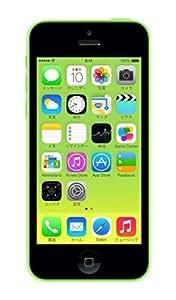au iPhone5c 16GB グリーン 白ロム