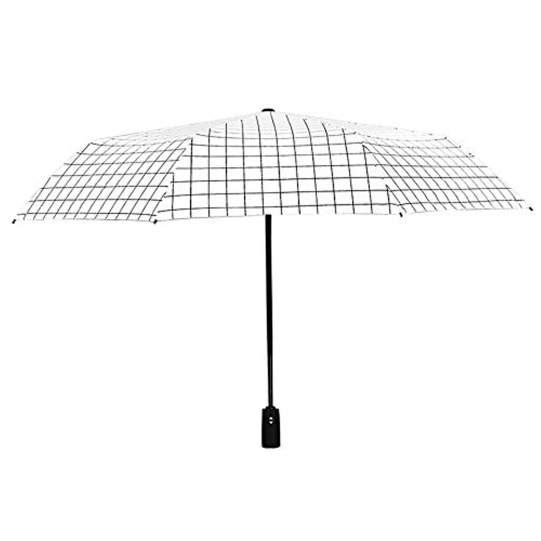 著作権致命的顧問傘の男性と女性の雨と雨の兼用自動三つ折り傘