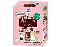 キーコーヒー コーヒーバッグ まいにちカフェ カフェインレス (7g×4バッグ) ×6箱 デカフェ・ノンカフェイン レギュラー(ドリップ)