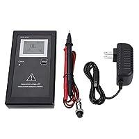 バッテリー内部抵抗計/バッテリー電圧テスター/デジタルバッテリーアナライザー+二次電池用テストリード(US Plug)