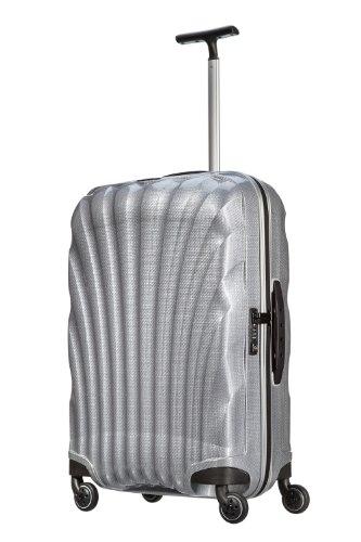 [サムソナイト] Samsonite COSMOLITE / コスモライト スピナー 69  (69cm/68L/2.5Kg) (スーツケース・キャリーケース・トラベルバッグ・TSAロック装備・軽量・大容量・ファスナー・10年保証付・リニューアルタイプ) V22*00106 25 (シルバー)