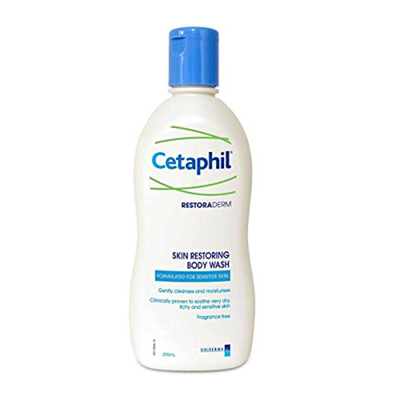 破壊ピル苗Cetaphil Restoraderm Liquid Soap 295ml [並行輸入品]