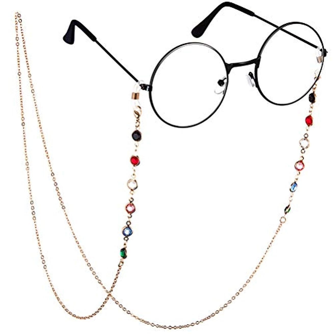 超高層ビルできればウェイトレスBTSMAT ファッションジェムメガネチェーンメガネ老眼鏡メガネメガネホルダーストラップストラップ