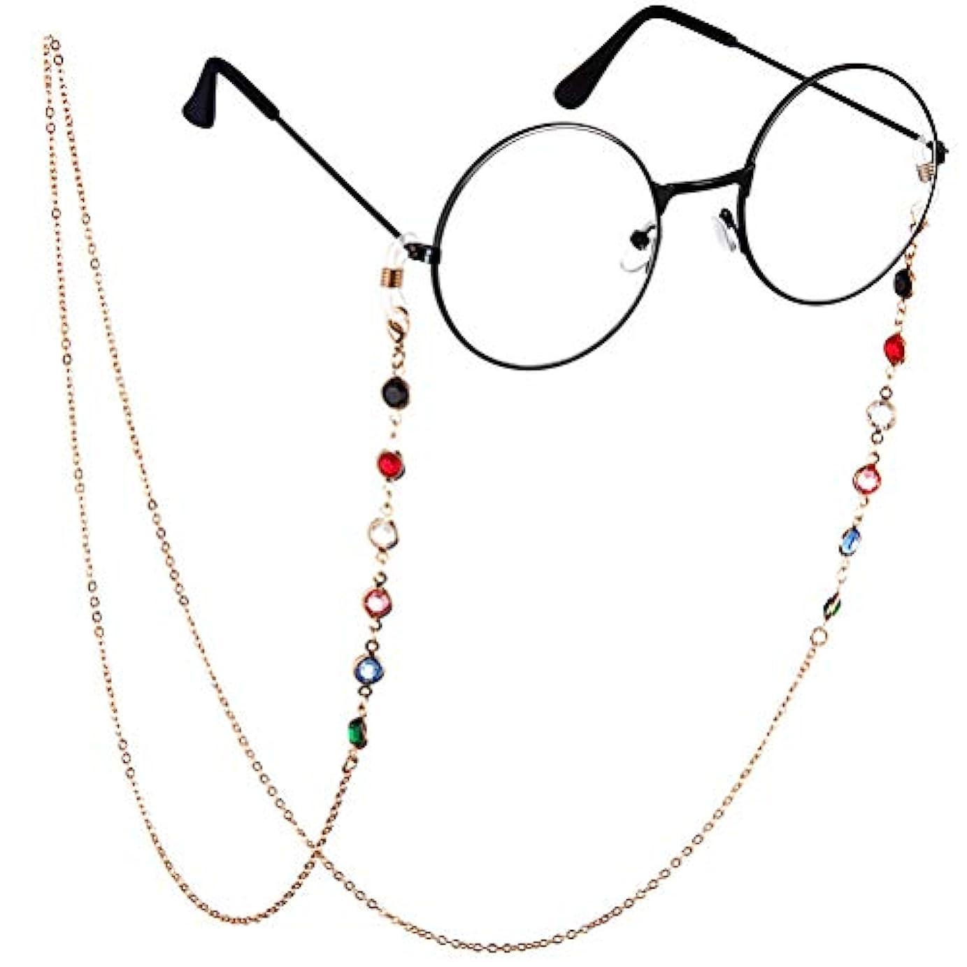 構築する皮肉閲覧するBTSMAT ファッションジェムメガネチェーンメガネ老眼鏡メガネメガネホルダーストラップストラップ