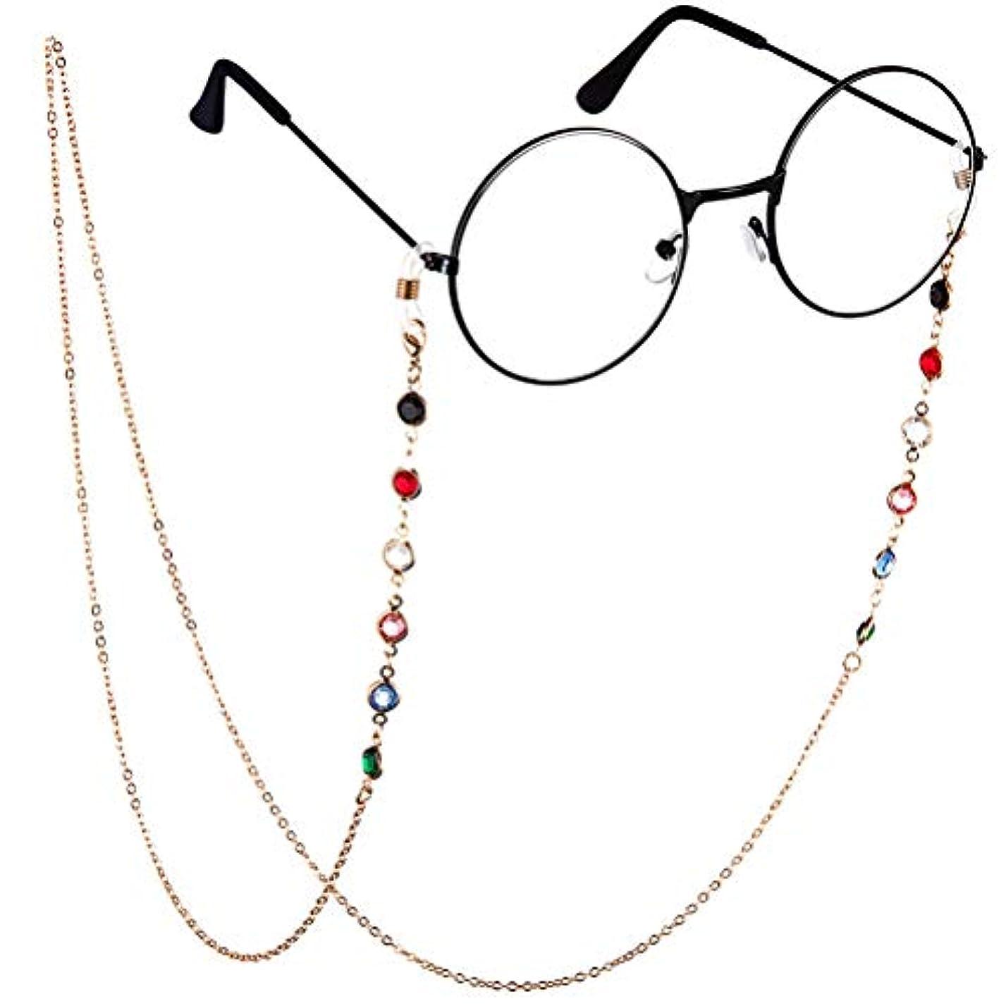 計り知れないスキップ落ち着いてBTSMAT ファッションジェムメガネチェーンメガネ老眼鏡メガネメガネホルダーストラップストラップ