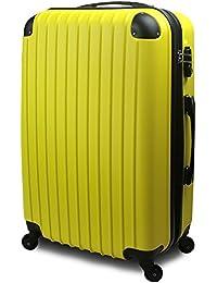 【SUCCESS サクセス】 スーツケース キャリーバッグ 3サイズ(大型 Lサイズ/中型 Mサイズ/小型 Sサイズ)TSA搭載 FS3000PC 超軽量 ファスナーモデル