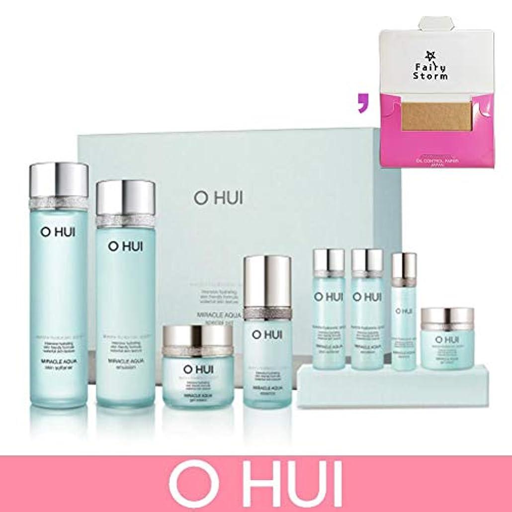 五苦しむ現実には[オフィ/O HUI]韓国化粧品 LG生活健康/O HUI MIRACLE AQUA SPECIAL SET/ミラクル アクア 4種セット + [Sample Gift](海外直送品)