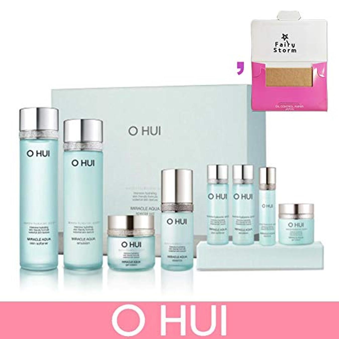 原因ドナーマリナー[オフィ/O HUI]韓国化粧品 LG生活健康/O HUI MIRACLE AQUA SPECIAL SET/ミラクル アクア 4種セット + [Sample Gift](海外直送品)