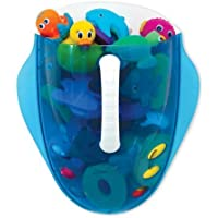 Munchkin Scoop Drain and Store Bath Toy Organizer, Blue Children, Kids, Game by Avner-Toys by Avner-Toys [並行輸入品]