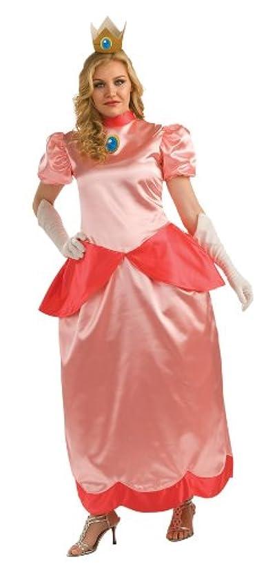 想像力ダイエット鎖Super Mario Bros. - Deluxe Princess Peach Adult Plus Costume スーパーマリオブラザーズ - デラックスピーチ姫大人用プラスコスチューム?ハロウィン?サイズ:One-Size (Plus)