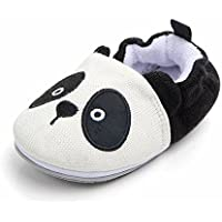 Demonda Knitted Non-Slip Cartoon Animal Slippers Loafers Crib Shoes