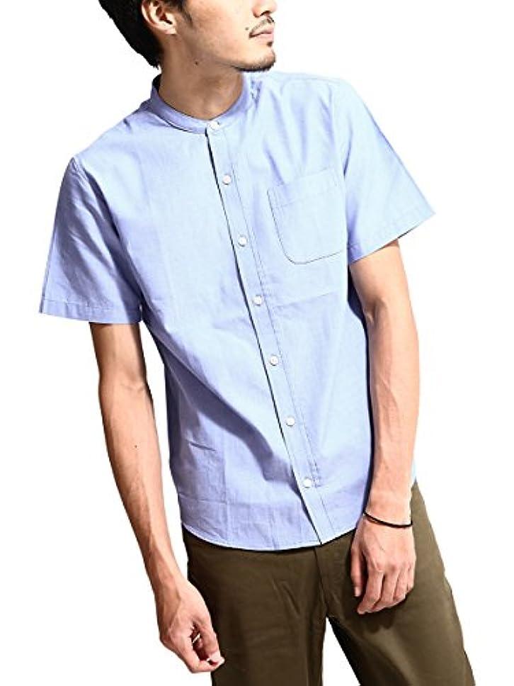 計算する真珠のような添加(ジップファイブ) ZIP FIVE ブロードバンドカラー半袖シャツ/メンズ ファッション