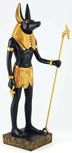 アヌビス神の像
