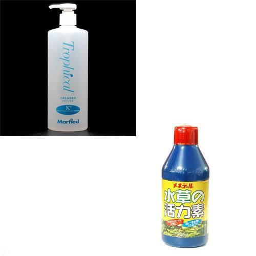 トロフィカル K+ + メネデール 水草の活力素 2点セット