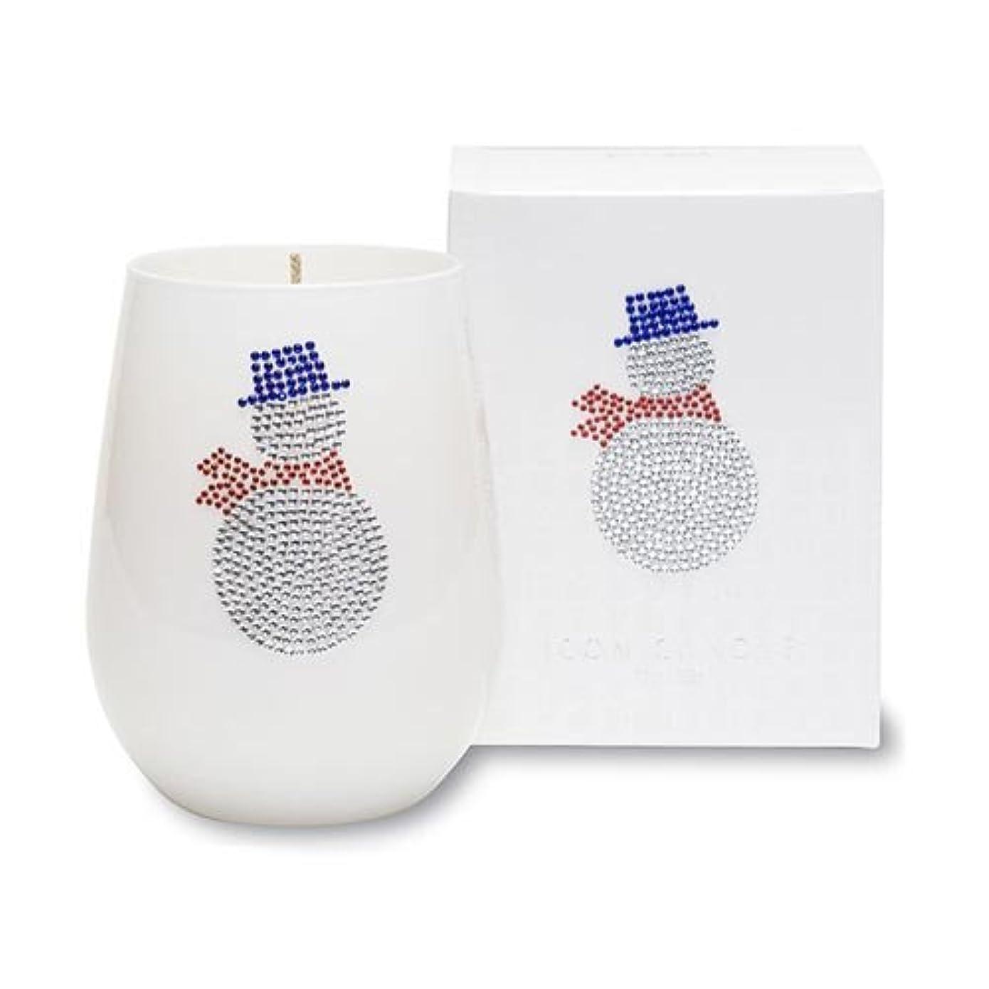 ポーター服を洗う断言するクリスマスアイコンキャンドル/スノーマン シトラスとユリの香り キャンドル