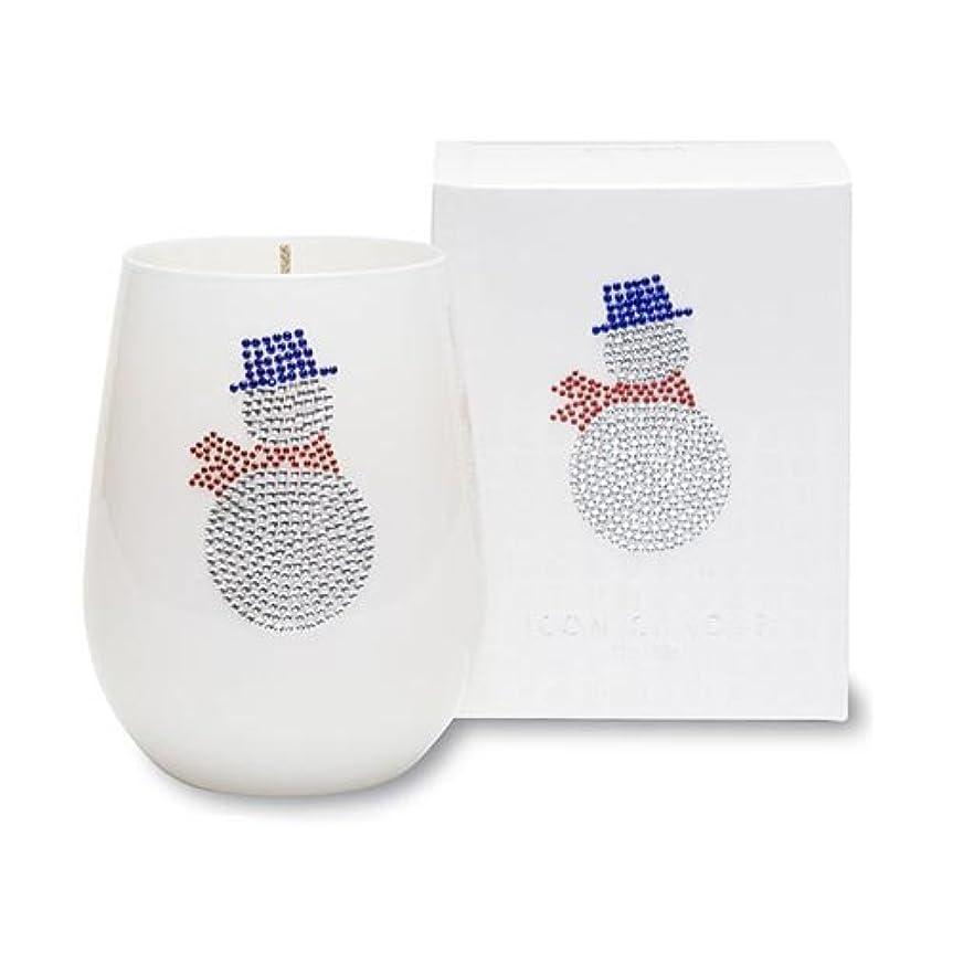クリスマスアイコンキャンドル/スノーマン シトラスとユリの香り キャンドル