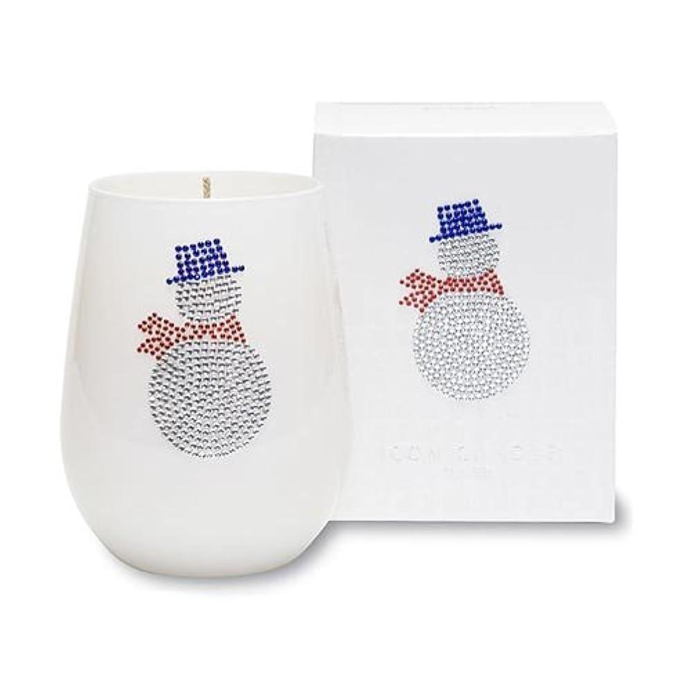 枝国民投票入学するクリスマスアイコンキャンドル/スノーマン シトラスとユリの香り キャンドル