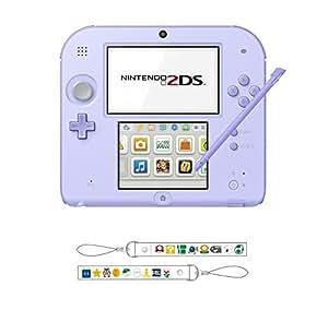 ニンテンドー2DS ラベンダー 【Amazon.co.jp限定】オリジナルストラップ 付
