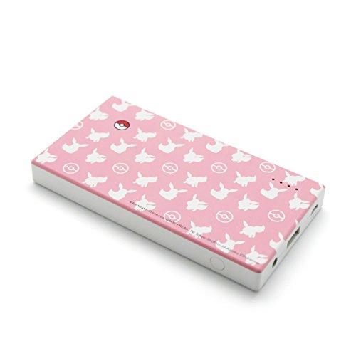 cheero Energy Plus 5000mAh Pokemon version (Pink) 薄型モバイルバッテリー LEDライト搭載 Auto-IC機能搭載