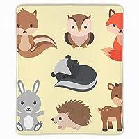 マウスパッド FPSゲーム (300*250*3mm) 森林動物セット