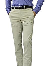 【アウトレット品】 ピーティーゼロウーノ OPTICAL オプティカル SUPER SLIM FIT 小紋柄プリント モールスキン コットン ストレッチ パンツ CPDTOP [並行輸入品]