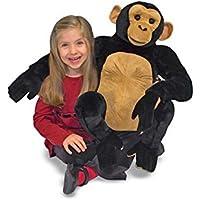 ノーブランド品 動物 ぬいぐるみ チンパンジー Melissa & Doug メリッサアンドダグ 知育玩具 [並行輸入品]
