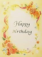 バースデーカード フラワー29 誕生日カード