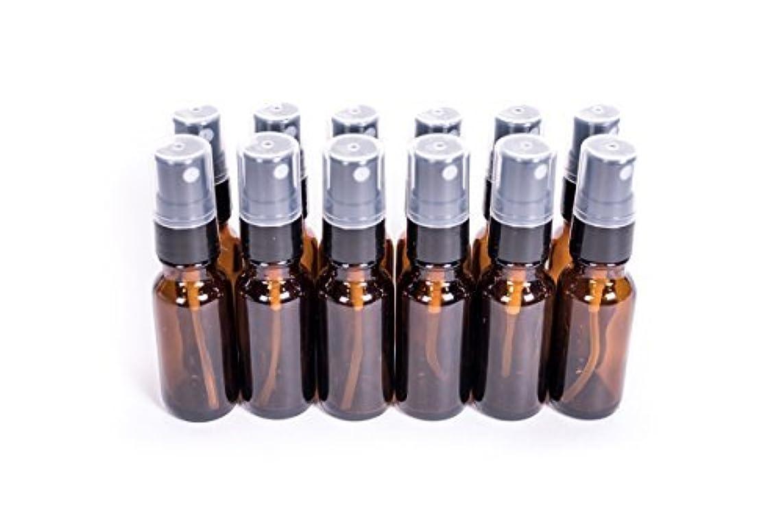日帰り旅行に青写真恥ずかしいEverything4Oils 1/2oz(15ml) Amber Glass Bottle with Pump for Essential Oils (. [並行輸入品]