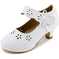 Link Girls Basic Platform Peagent Dress Shoes (Toddler/Little Kid/Big Kid)