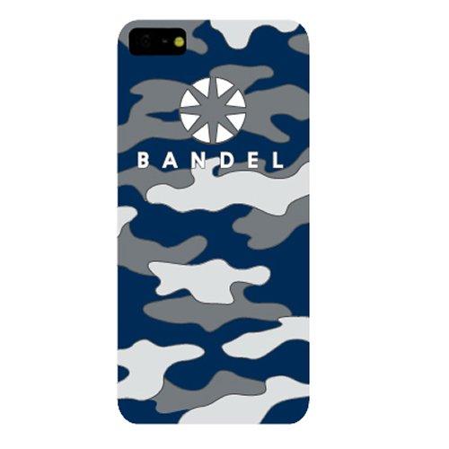 BANDEL iPhone7ケース ネイビー カモフラージュ...