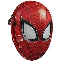 Marvel Spiderman 2700 – 208 Filled Pencil Case 3d、2コンパートメント、マーカー、クレヨン、アクセサリー学校21ピース、ポリエステル、マルチカラー