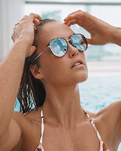 Soda Shades Unisex Polarized Sunglasses OLSEN (Rose)