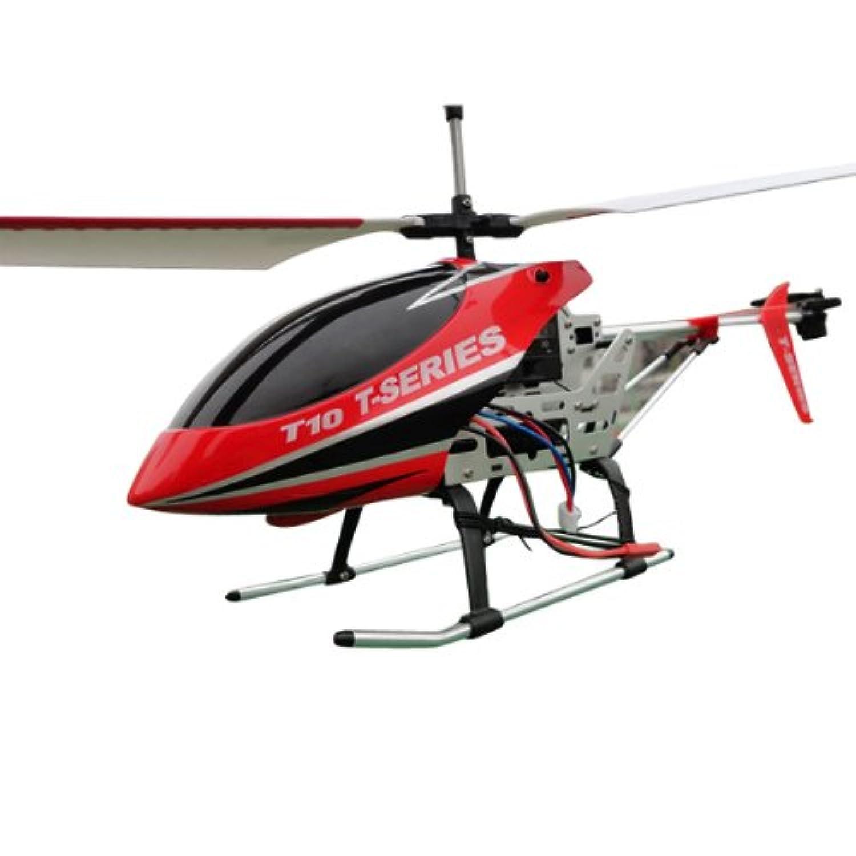 MJX T-SERIES T10 3CH RC ヘリコプター with ジャイロ 3D フル フライト [Red]