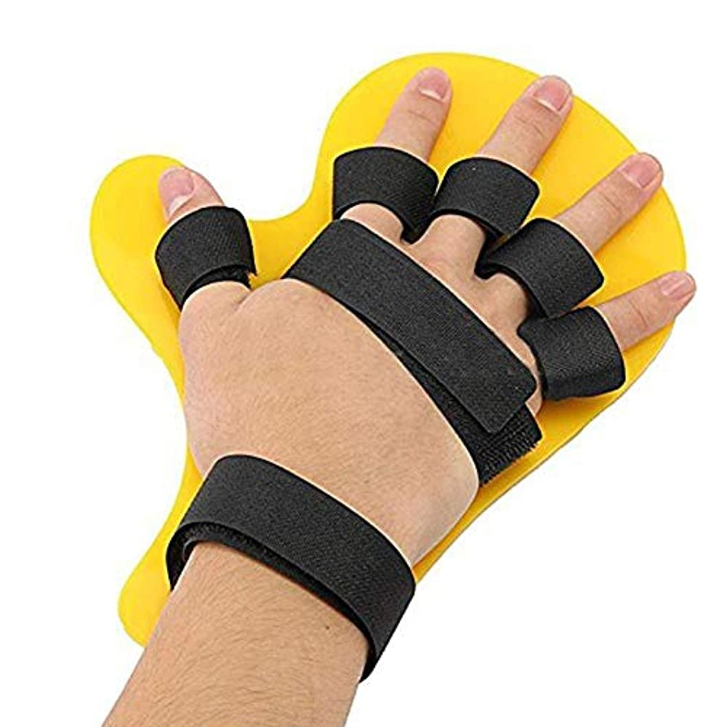 ペース開発まっすぐにする指の骨折、創傷、術後のケアと痛みの軽減のための指の添え木、指板指の分離器矯正装具ポイント (Size : 1pairs)