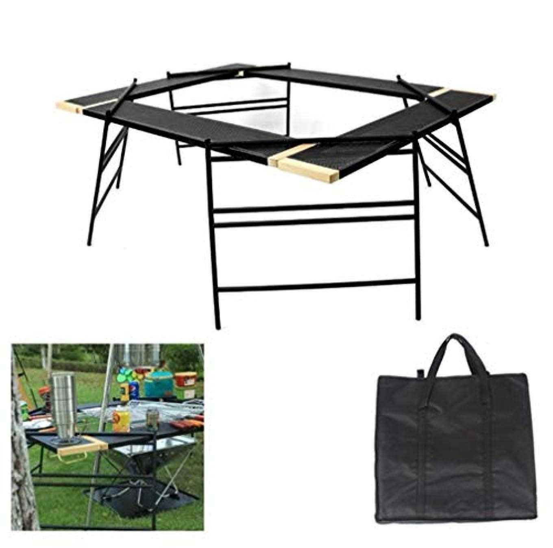 専制に慣れ赤外線ピクニックテーブル、ポータブル屋外ピクニック折りたたみテーブル、スプライス可能ネットテーブル、キャンプ用軽量、ビーチ、裏庭、バーベキュー、パーティーとピクニック