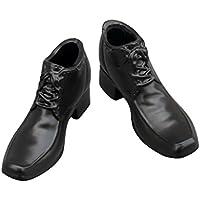 KOZEEY男性 1/6 スケール レース アップ シューズ 靴 12インチ アクション フィギュア用