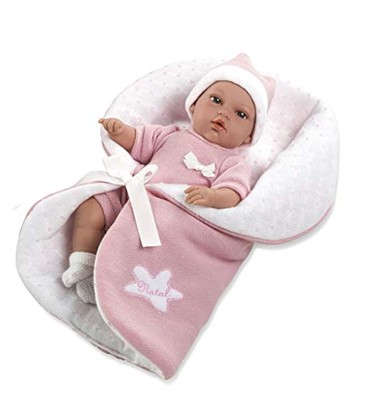 リル哀シネウィAnn Lauren 人形 赤ちゃん ナチュラルピンク 13インチ ベビードール