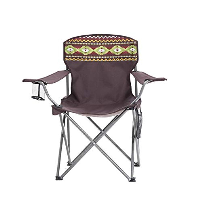 風景ニュースに付ける屋外折りたたみ椅子ポータブルマザール釣りスツールアート学生絵バックレストスケッチチェア小さなベンチスツール(45 * 45 * 85センチメートル)