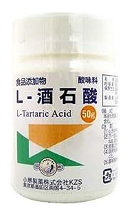 L-酒石酸(食添) 50g