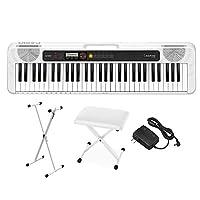 CASIO CT-S200 WE ホワイト スタンド・イスセット 61鍵盤 Casiotone カシオトーン カシオ