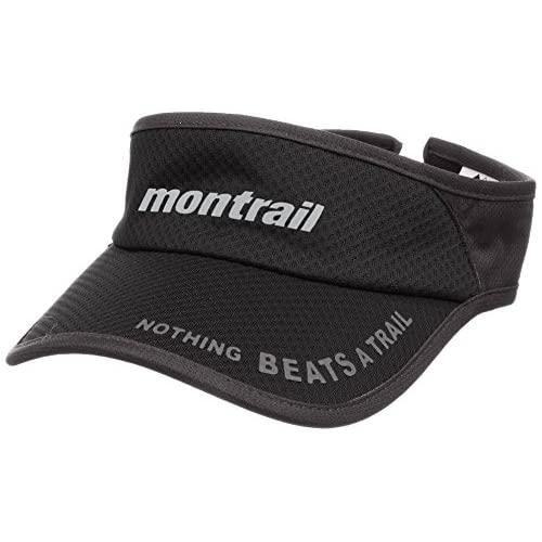 (モントレイル)montrail(モントレイル) ナッシングビーツアトレイル ランニングバイザー XU3981 010 ブラック O/S