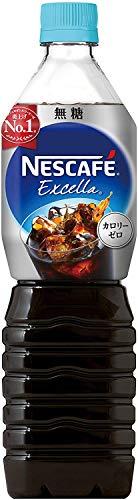 ネスカフェ エクセラ ボトルコーヒー 無糖 900ml ×12...