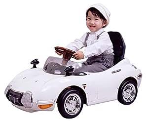 ミズタニ ペダルカー TOYOTA2000GT ホワイト TGT-N