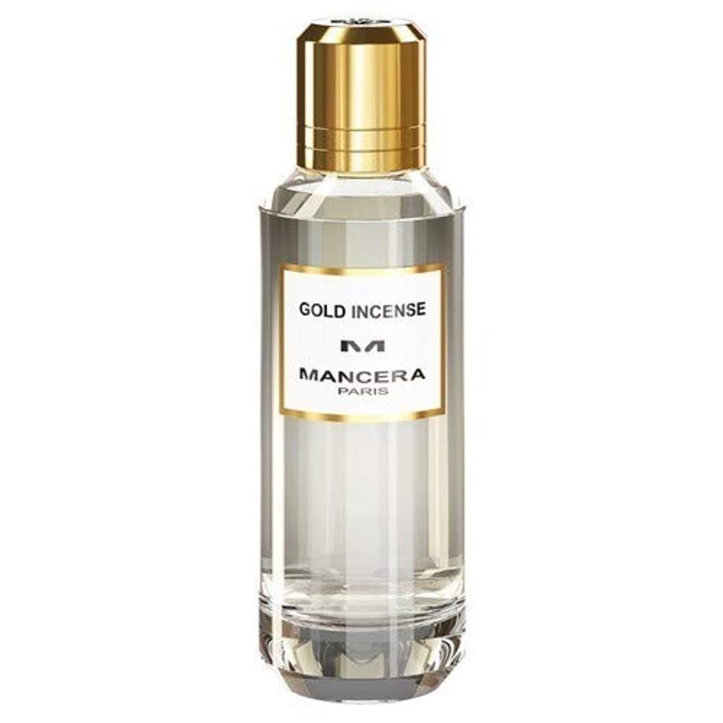 連邦海外配偶者Mancera Gold Incense Eau de Parfum 2.1 oz./60 ml New in Box